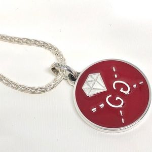 New Gucci Reversible Ghost GG Charm + Free Chain